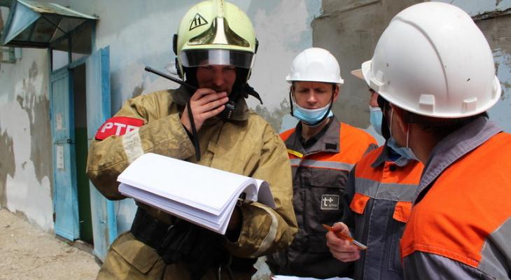 На Новочебоксарской ТЭЦ-3 прошли учения совместно с ГУ МЧС