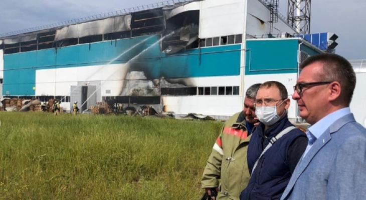 Сити-менеджер Новочебоксарска показал последствия пожара на «Химпроме»