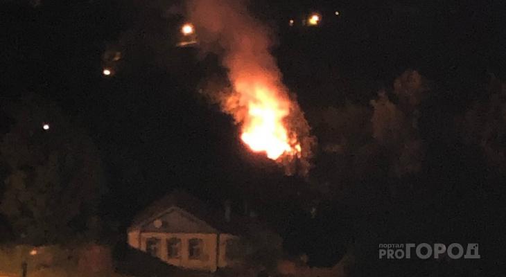 В Благовещенском районе вспыхнул частный дом