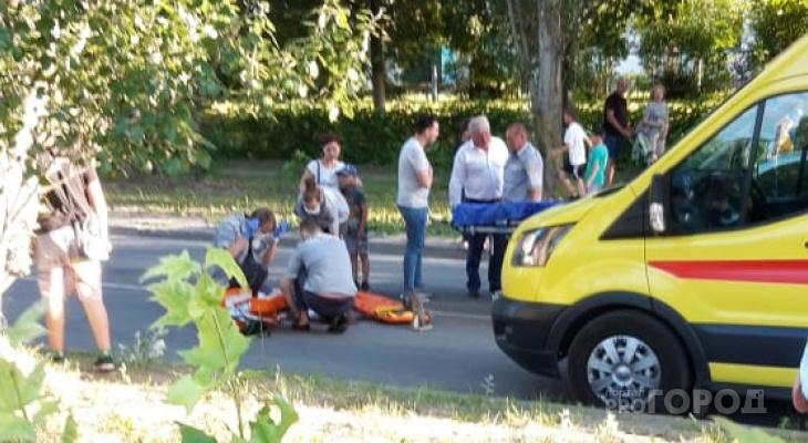 В Новочебоксарске под колеса легковушки попала девочка
