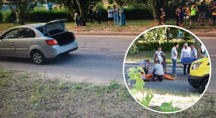 В Новочебоксарске водитель объехал затор и сбил ребенка: детали случившегося