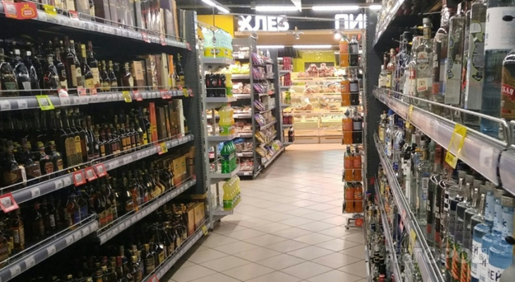 На день в Чебоксарах всем магазинам запретили продавать алкоголь
