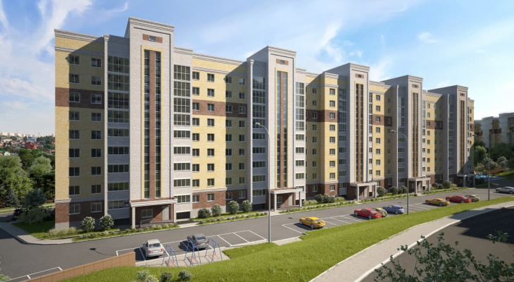 Сбербанк профинансировал строительство нового жилого дома в микрорайоне «Радужный»