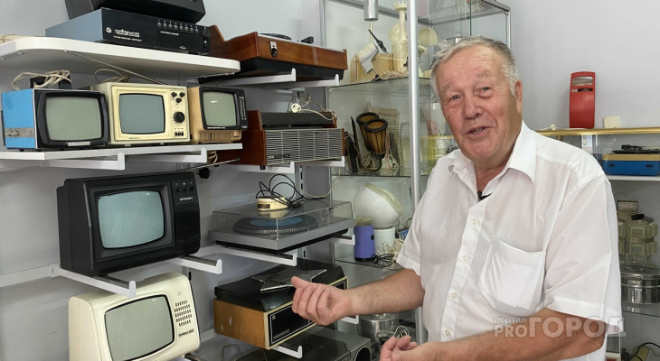 """Коллекционер из Чебоксар основал музей советского быта: """"В нем около 10 тысяч экспонатов"""""""