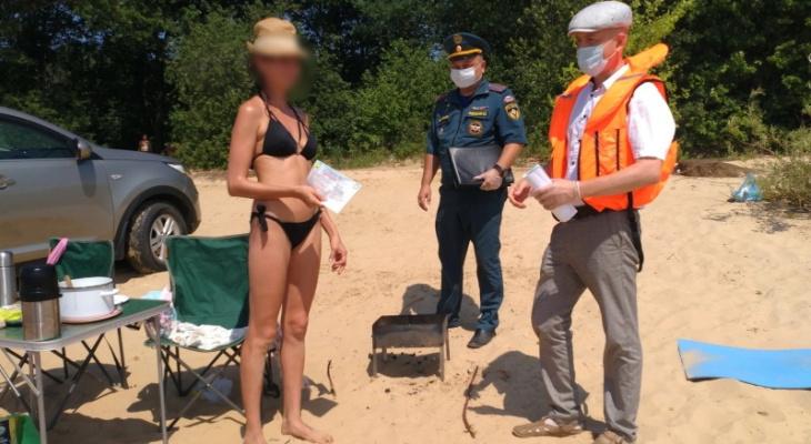 87 жителей Чувашии оштрафованы за разведение костров и шашлыки на природе