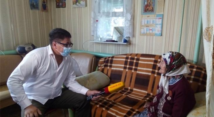 Жительница Чувашии отпраздновала вековой юбилей: муж не вернулся с войны, детей воспитывала одна