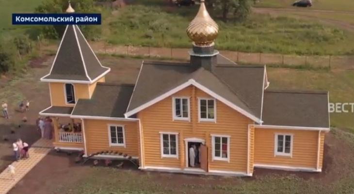 Двухэтажный храм достроили в чувашской деревне за три года