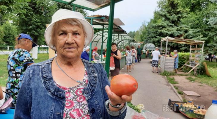 """Цены на овощи и фрукты на рынках Чувашии: """"Что-то подорожало, а что-то упало"""""""