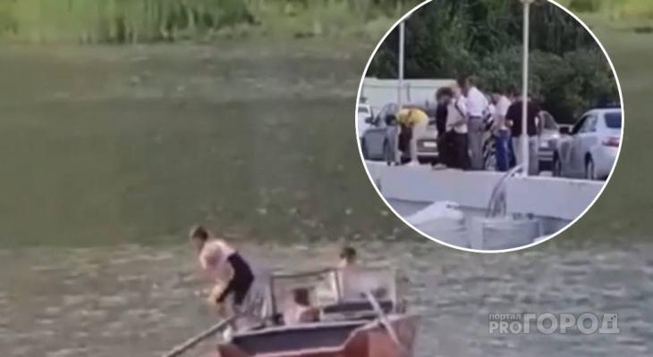 Дети угнали лодку и плавали на Заливе: никто их не спугнул, даже Алексей Ладыков