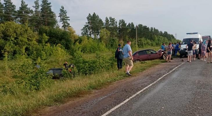 Три ребенка серьезно пострадали в ДТП из-за пьяного водителя
