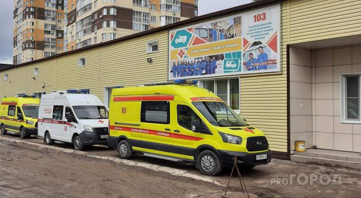Ранним утром в Новочебоксарске мужчина выпал из окна многоэтажки