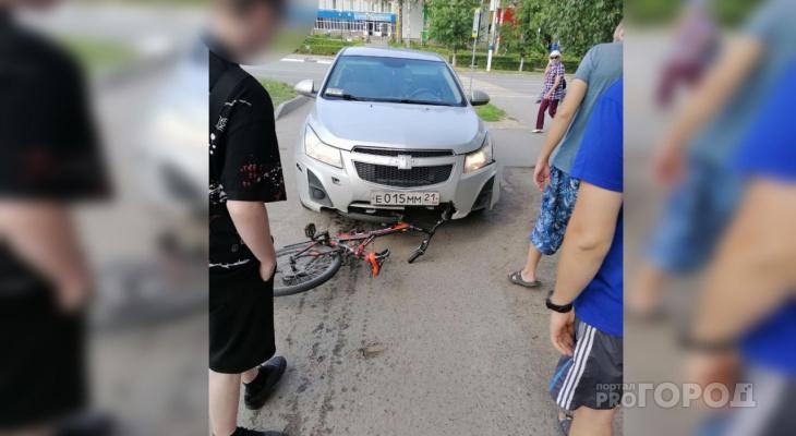 В Новочебоксарске иномарка сбила мальчика на велосипеде