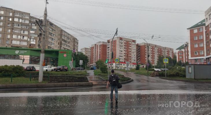Четверг в Чувашии начнется с дождей: осадки будут практически весь день
