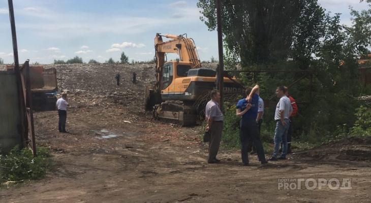 В Канаше на мусорной свалке нашли две мины