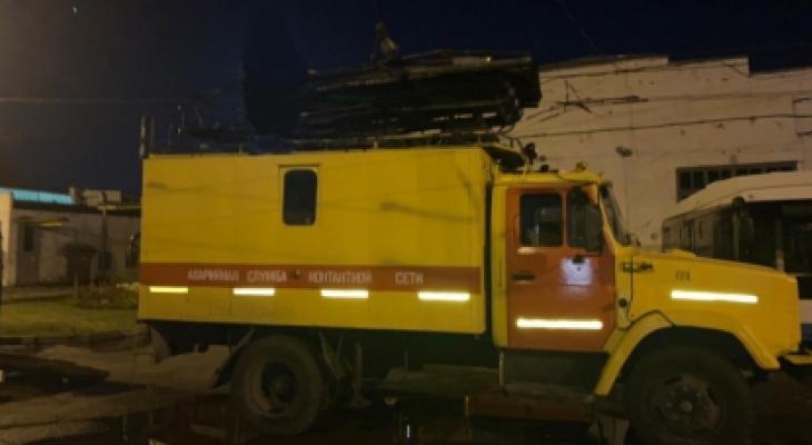 В Чебоксарах от удара током умер сотрудник троллейбусного управления