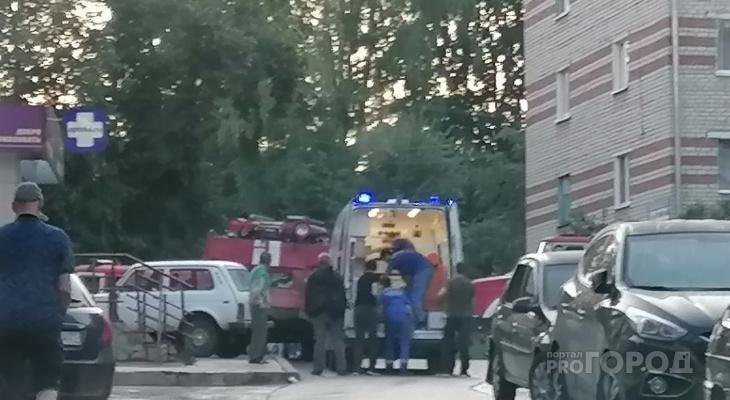В Новочебоксарске при пожаре в общежитии погиб мужчина