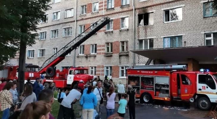 Погибший при пожаре в новочебоксарском общежитии мужчина приходил в гости