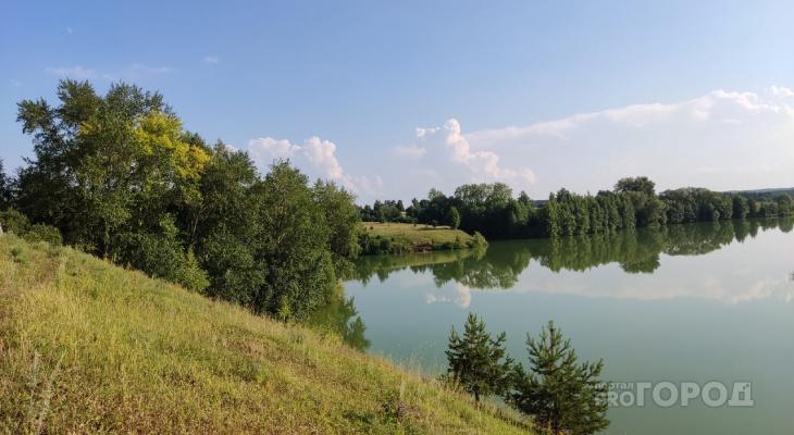 В Чебоксарском районе возле пруда нашли убитого человека