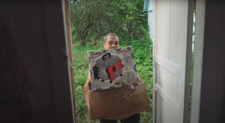 Робинзону из Чувашии помогли переехать в новый дом: он шесть лет жил в лесу
