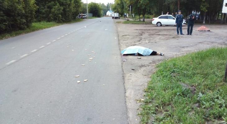 В Алатыре пьяный водитель задавил женщину: она умерла до приезда скорой помощи