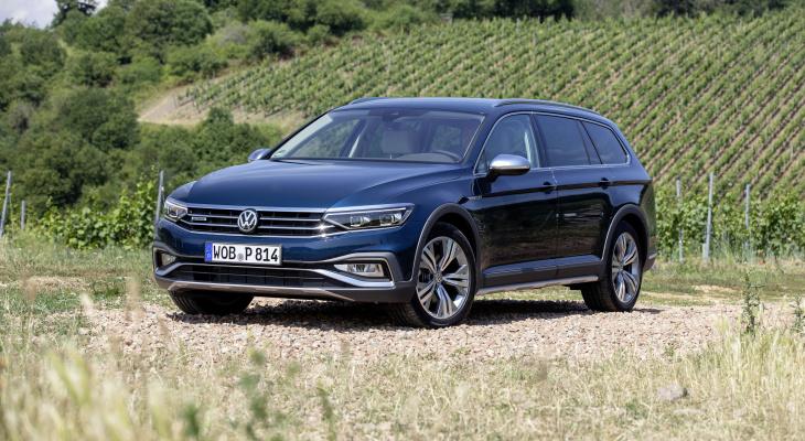Volkswagen представляет Passat Alltrack в России