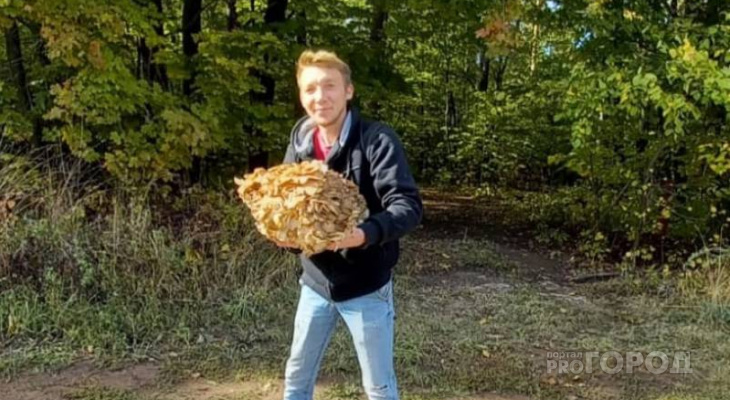 Чебоксарец нашел редкий гриб