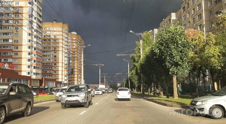 В воскресенье жителей Чувашии ждет небольшой дождь и туман