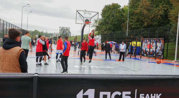 ПСБ открыл первый в Чувашской Республике Центр уличного баскетбола международного класса