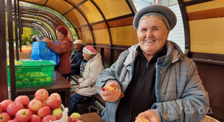 """Новочебоксарские пенсионеры рассказали, сколько зарабатывают на продаже овощей и фруктов: """"Будешь дома сидеть - ноги протянешь"""""""