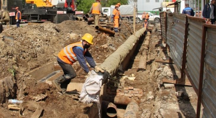 Более 100 домов в Чебоксарах останутся без тепла и горячей воды