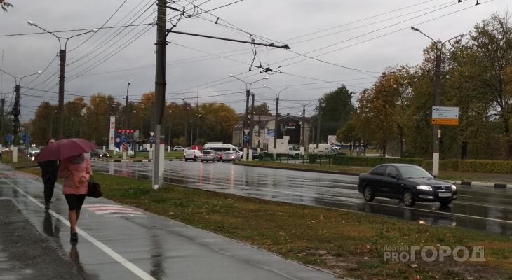В среду в Чувашии потеплеет, но начнутся дожди