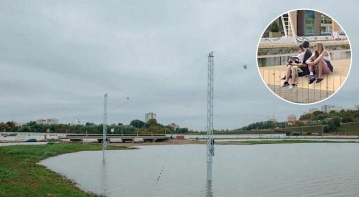Когда в Чебоксарах откроют вейк парк: для этого специально поднимут уровень воды в заливе