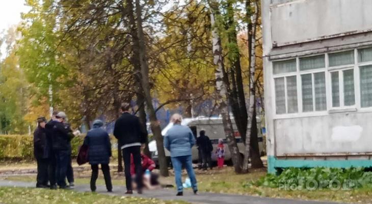 В Чебоксарах посреди улицы нашли тело мертвой женщины