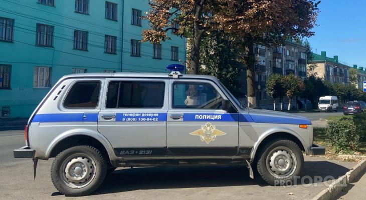 Жительница Чувашии ударила в живот женщину-полицейского и накинулась на ее напарника