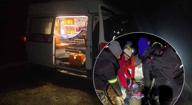 Ночью в Чувашии искали мужчину с потерей памяти: ему потребовалась срочная эвакуация