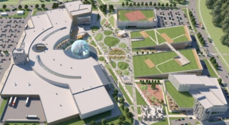 В одном из новых микрорайонов Чебоксар собираются построить Дворец единоборств на 3000 мест