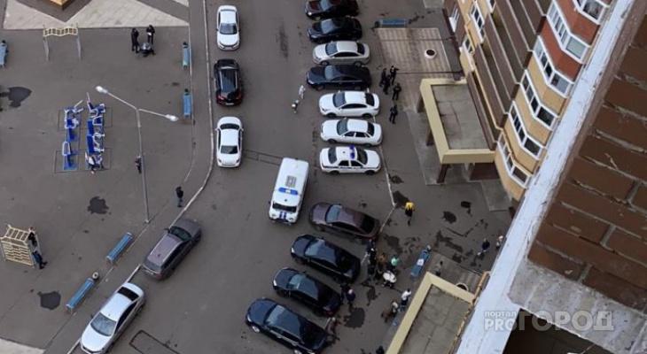 В Чебоксарах под окнами высотного дома нашли тело девочки-подростка