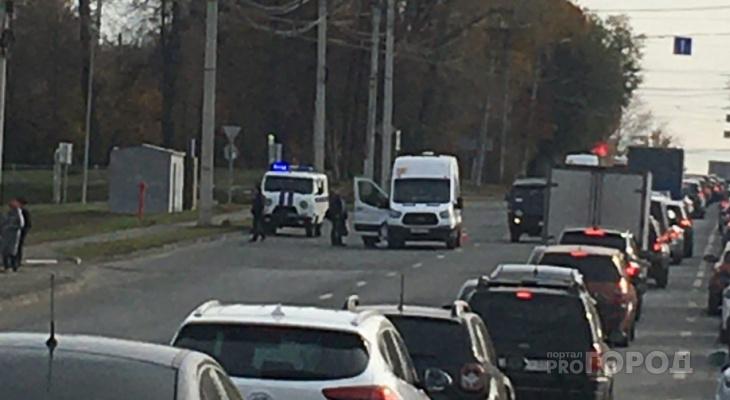 Появились подробности о нападении девушки на водителя маршрутки в Чебоксарах