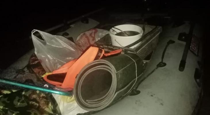 В Чувашии спасли мужчину, которого унесло на середину Волги на надувной лодке