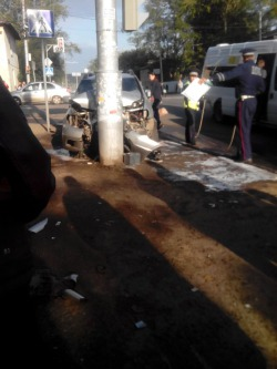 В ДТП на Богданке сбиты трое детей и тяжело ранена беременная жена водителя