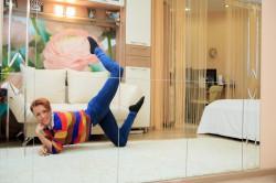 В гостях у хореографа: «Дома изучаю новые движения перед огромным зеркалом»