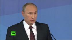 Выступление Владимира Путина: «Мировой порядок: Новые правила или игра без правил?»