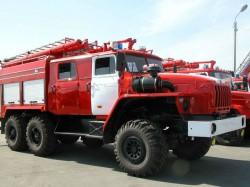 В Чувашии установят пожарную машину Урал в знак признания доблести и отваги спасателей